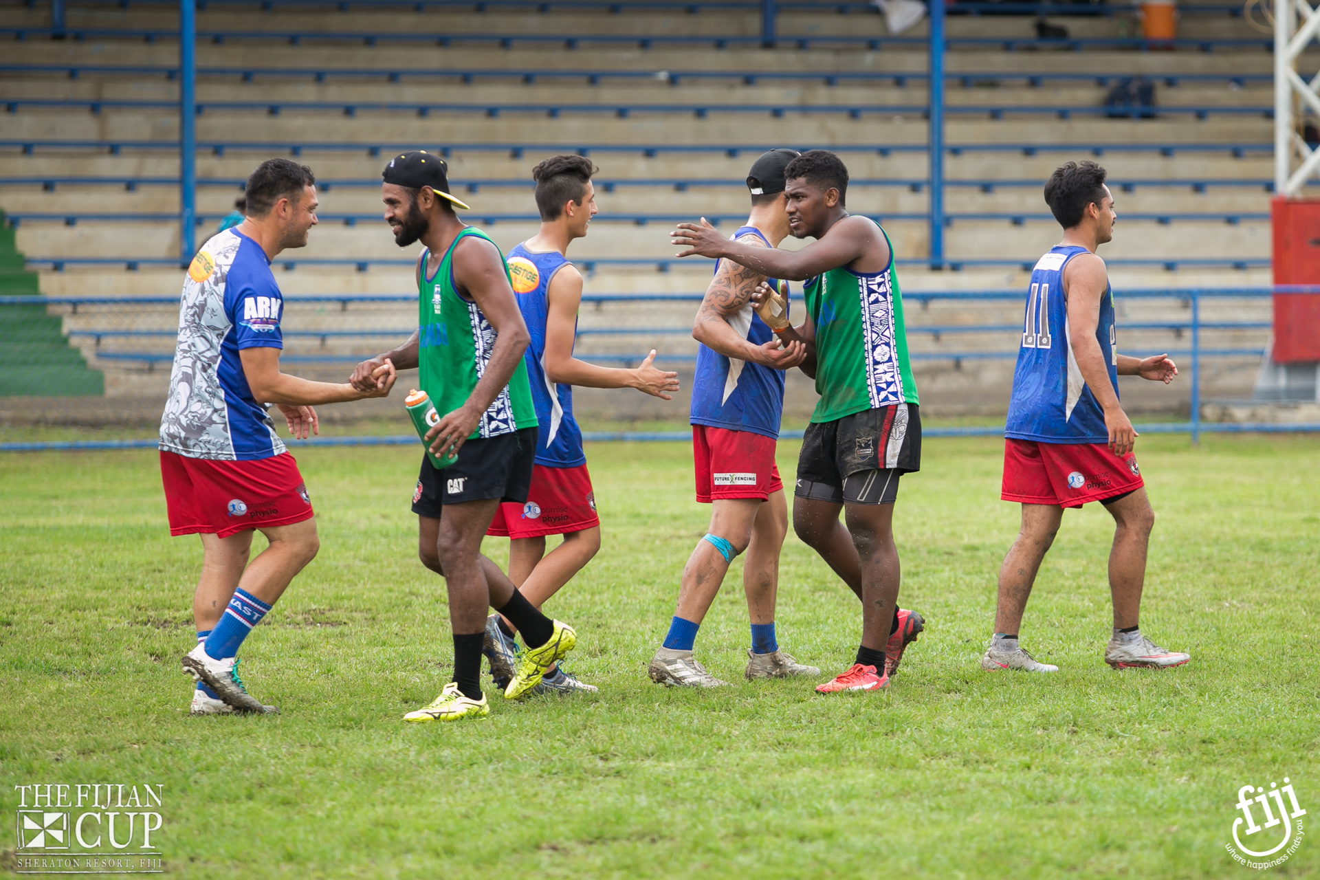 Referee at The Fijian Cup